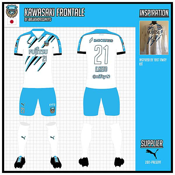 Kawasaki Frontale Away Kit (League)