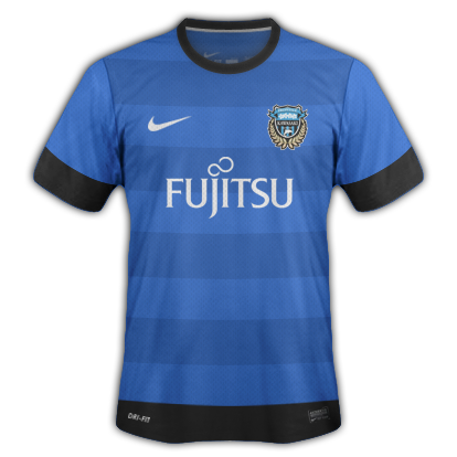 Kawasaki Frontale fantasy kits with Nike