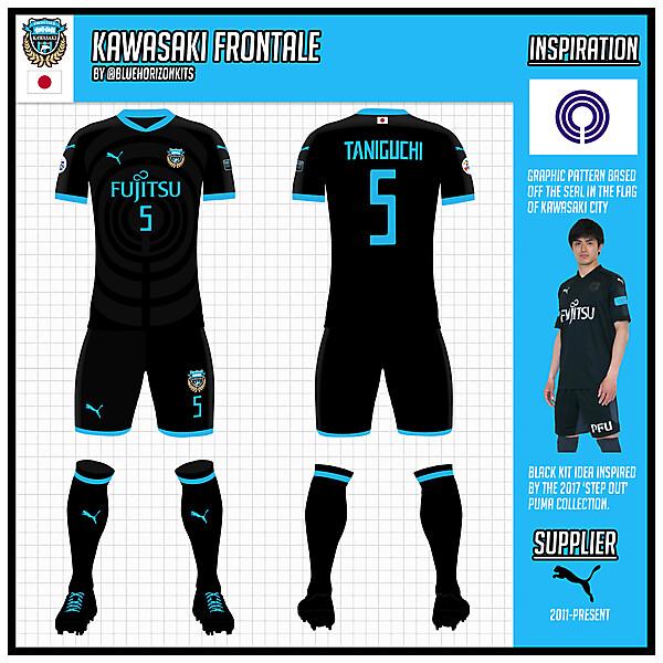 Kawasaki Frontale Third Kit (Asian Champions League Version)