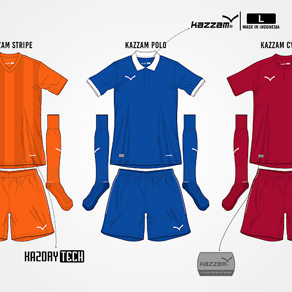 Kazzam 15-16 Teamwear