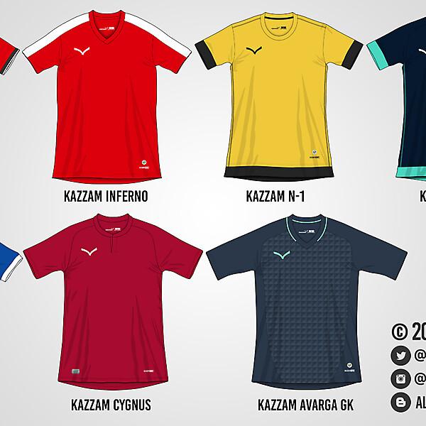 Kazzam Teamwear 16/17