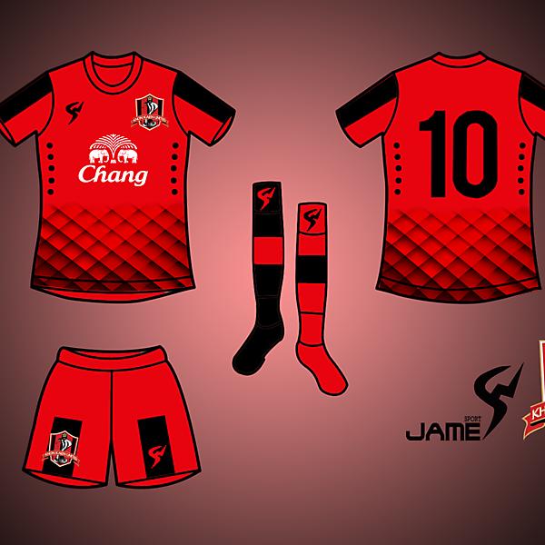 KhonKhaen United Kits Home 2017