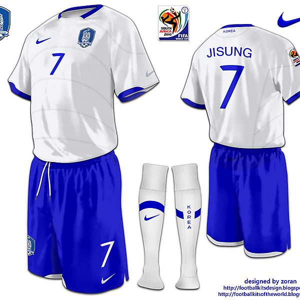 Korea Republic World Cup 2010 fantasy away