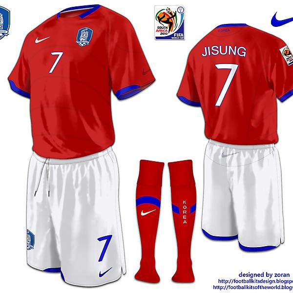 Korea Republic World Cup 2010 fantasy home