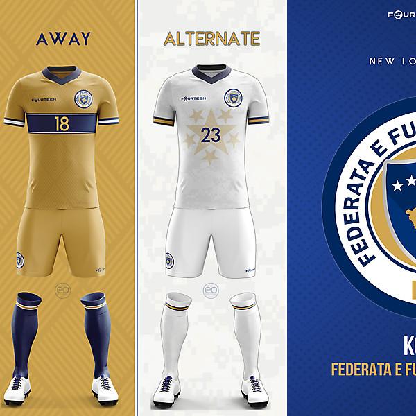 KOSOVO New kits and logo concept