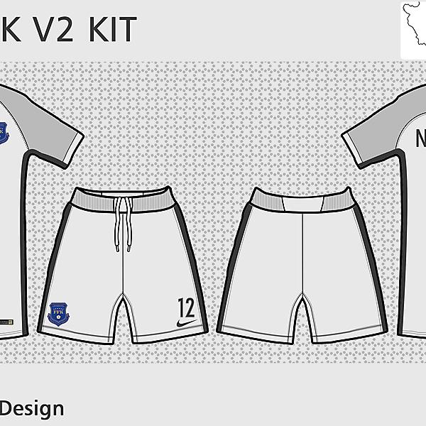 Kosovo x Nike - GK V2