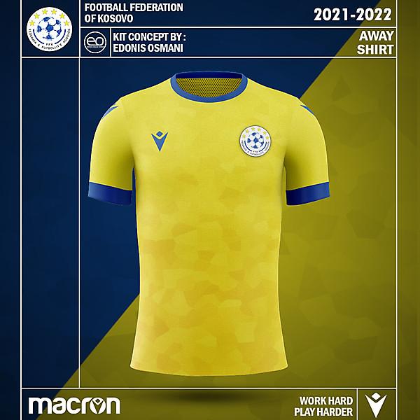 KOSOVOxMACRON - Kosovo Kit Concept - Away Kit