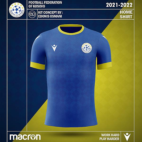 KOSOVOxMACRON - Kosovo Kit Concept - Home Kit