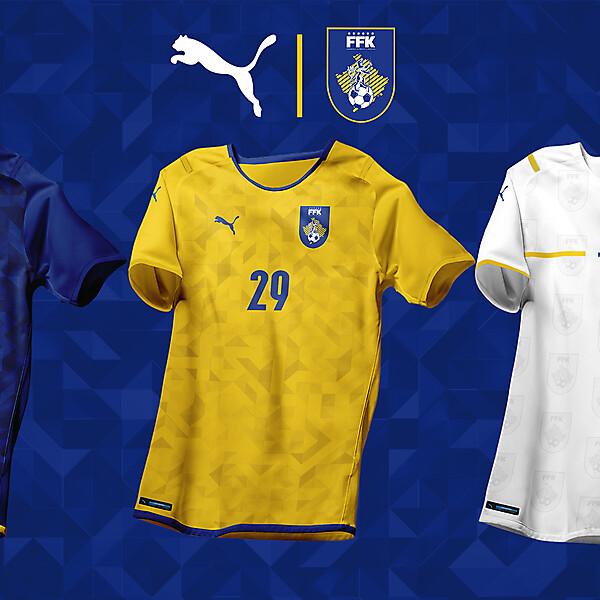 KOSOVOxPUMA - Design by EO - Football kits & Logo - FFK logo & kits