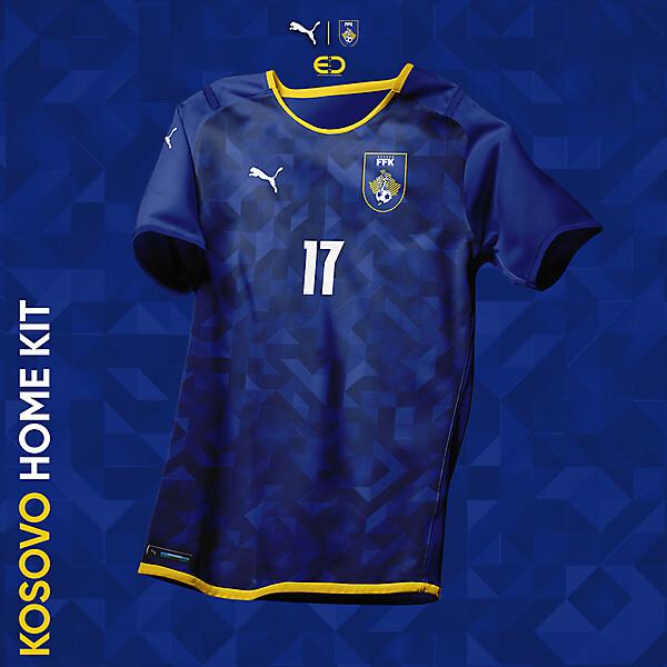 KOSOVOxPUMA - Design by EO - HOME Kit - FFK logo & kits