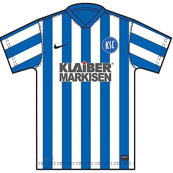 KSC - Karlsruher SC (HOME KIT)