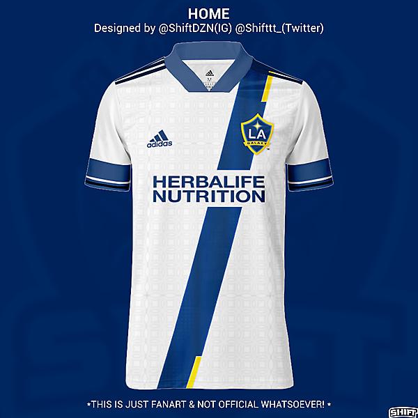 LA Galaxy Home Jersey Concept