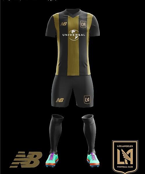 LAFC 2018 Home Kit New Balance