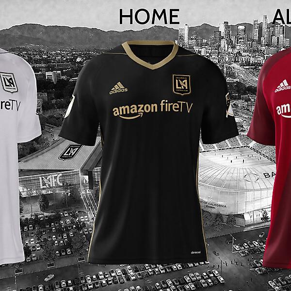 LAFC Adidas 2018 Concept