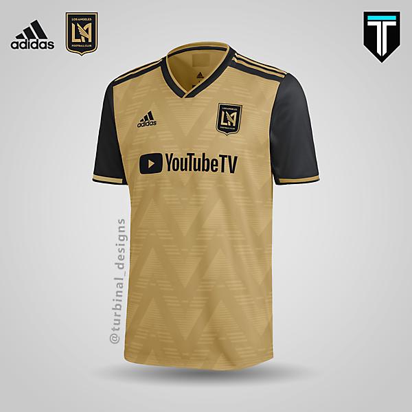 LAFC x Adidas - Third Kit