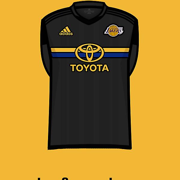 L.A.Lakers soccer team third kit