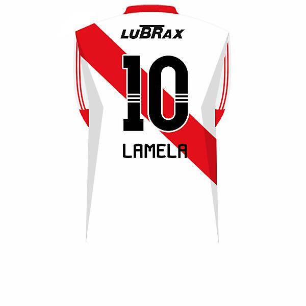 Lamela (River Plate) 2011.