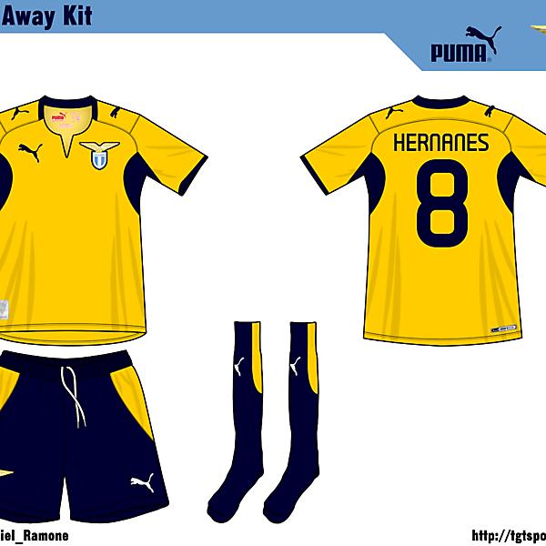 Lazio Away Kit