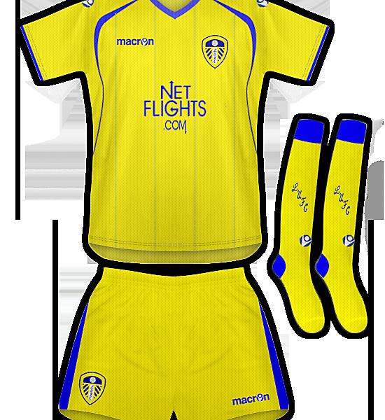 Leeds Utd Away Kit
