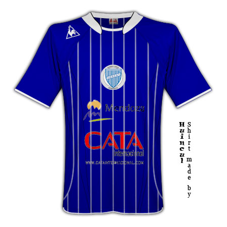 Godoy Cruz home shirt (Le Coq Sportif)
