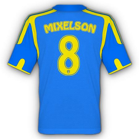Leeds away kit(back)