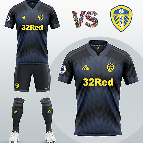 Leeds United Third kit with Adidas (Concept 2020/21)