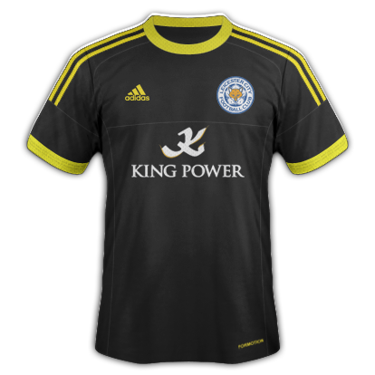 Leicester City fantasy kits with Adidas