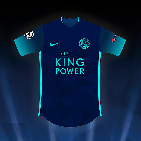 Leicester City Nike CL 16-17