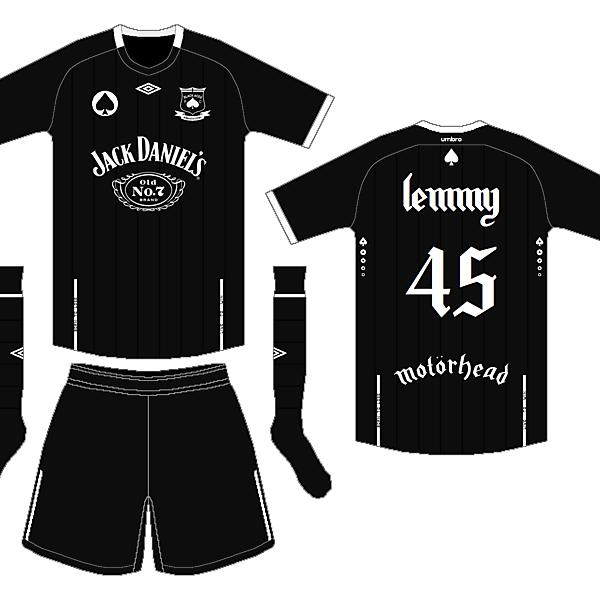 Lemmy Kilmister 1945-2015   Black Aces FC
