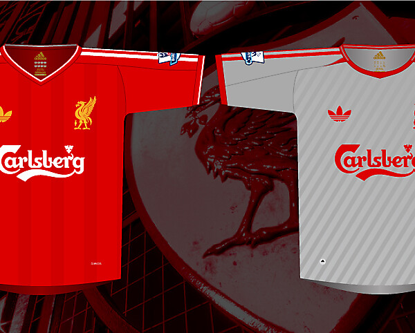 Liverpool Home & Away Kits