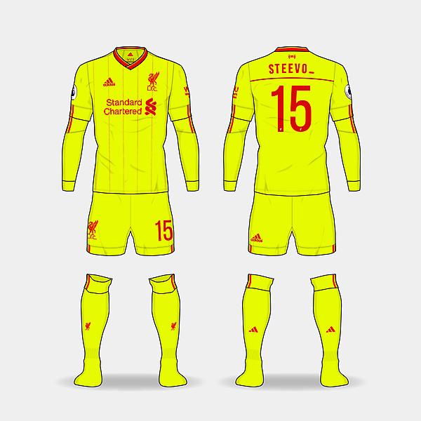 LFC Adidas third kit