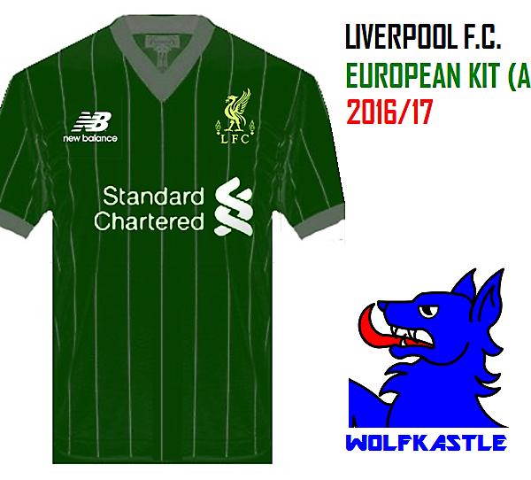 LFC Euro (A) - Pinstripe kit series #1