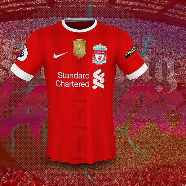 LFC home kit nike concept