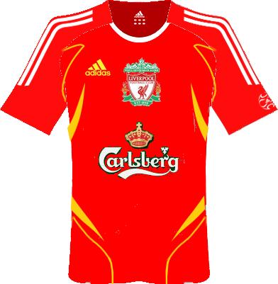 Kits Liverpool, Port Vale, Stoke, England