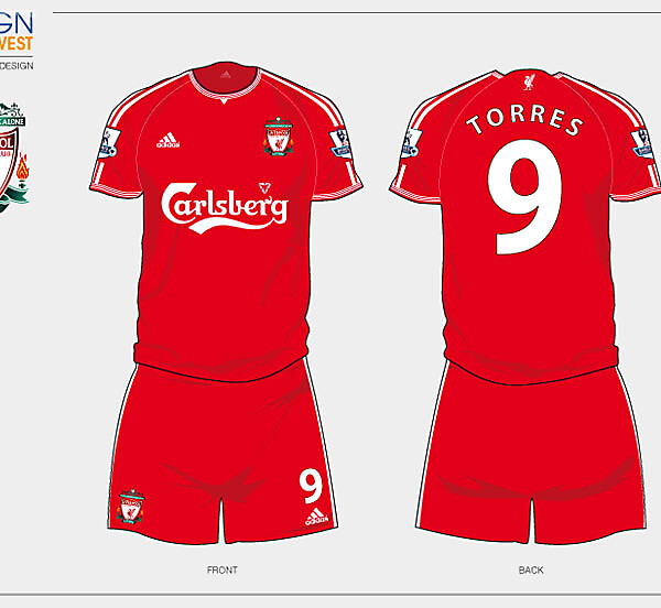 Fantasy Liverpool Home Football Kit