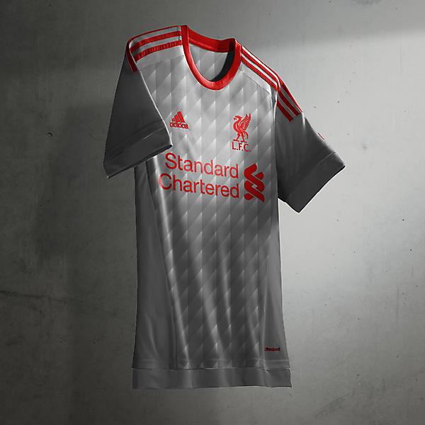 Liverpool adidas away/third shirt
