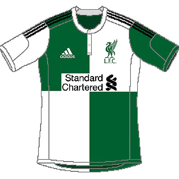 Liverpool Adidas Away