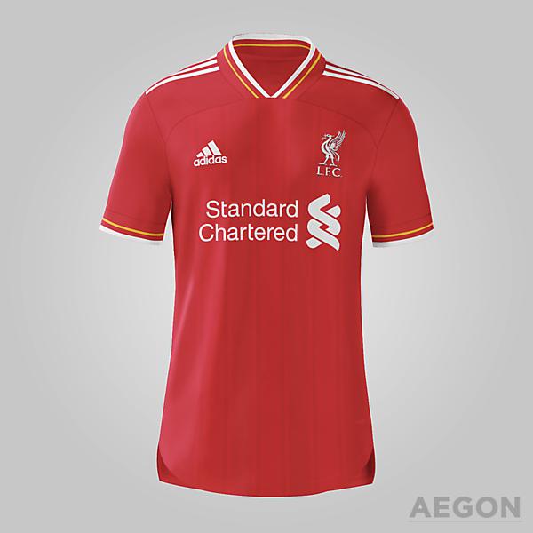 Liverpool Adidas Home Kit