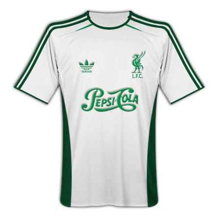 Liverpool Adidas Pepsi-Cola (European Away)