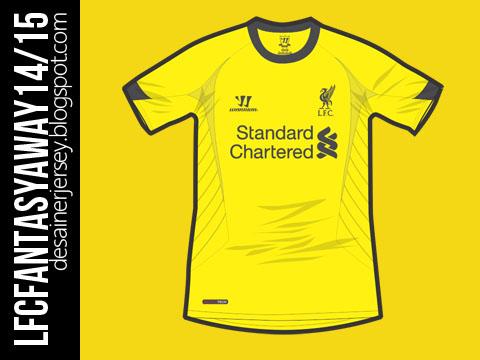 Liverpool Fantasy 14/15 Away Shirt
