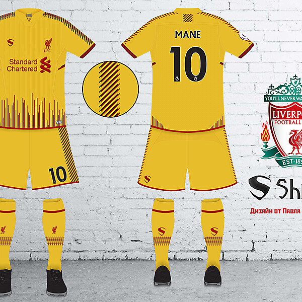 Liverpool Fantasy Away Kit