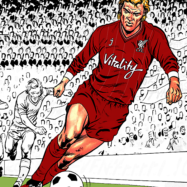 Liverpool FC - based in comic