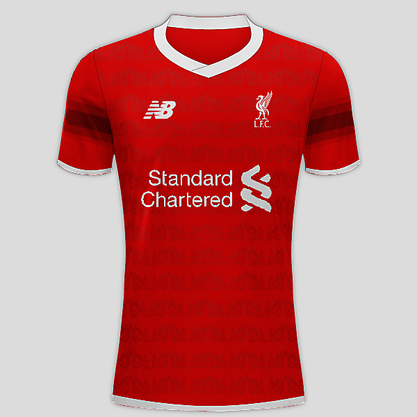 Liverpool FC 16/17 Home Kit Concept