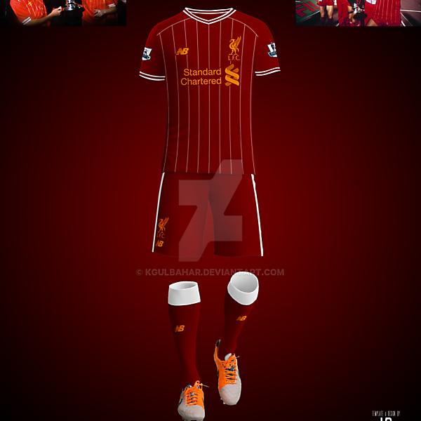 Liverpool FC 1984 European Cup Winners Tribute Kit