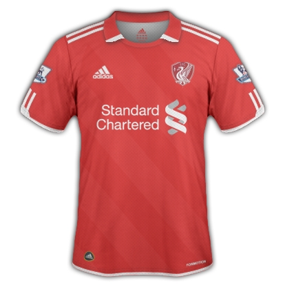 Liverpool FC 2012/2013 Home Kit