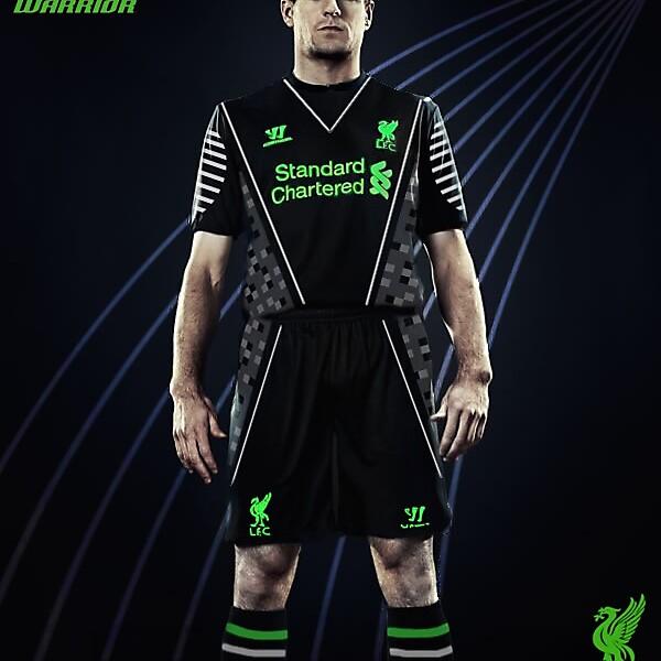 Liverpool f.c away kit 2014/15