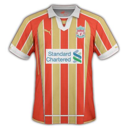 Liverpool FC Away Shirt
