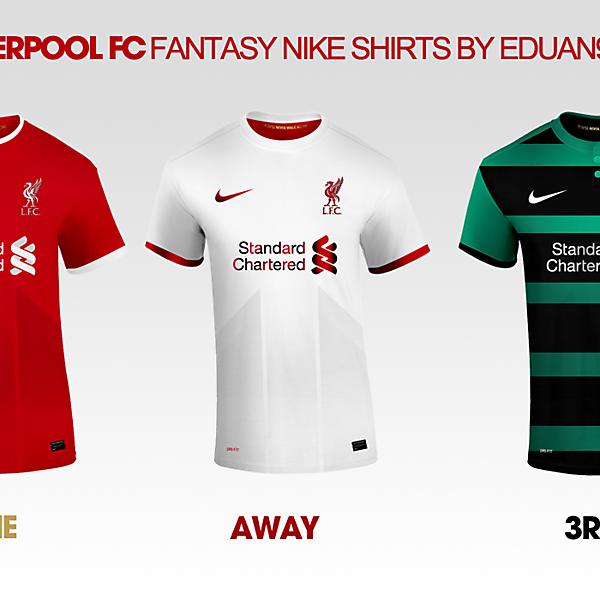 Liverpool FC Fantasy Nike Kits