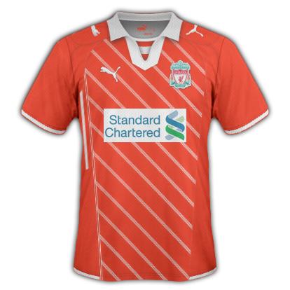 Liverpool FC Home Shirt