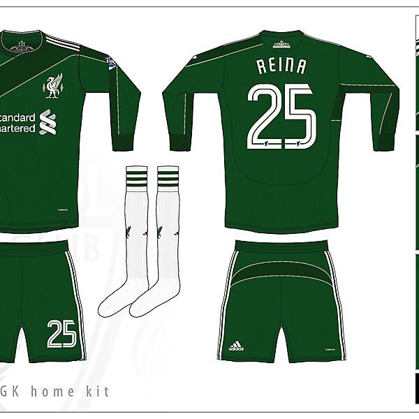 Liverpool GK Home Kit